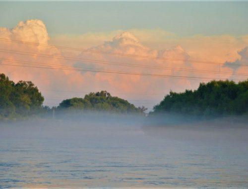 Уровень рек ЕАО поднялся из-за сильных дождей