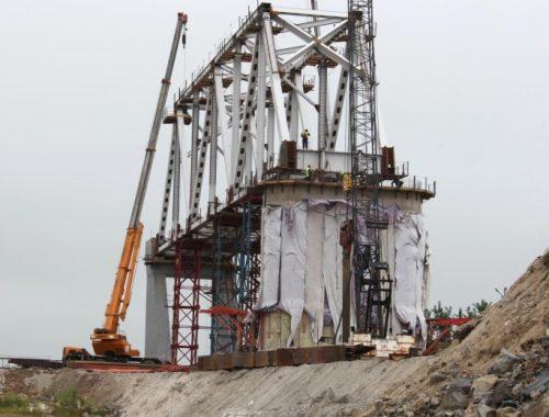 Китай практически достроил свою часть моста Нижнеленинское – Тунцзян