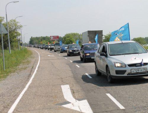 Комплексным пробегом «ударили» общественные активисты по проблемам дорог ЕАО