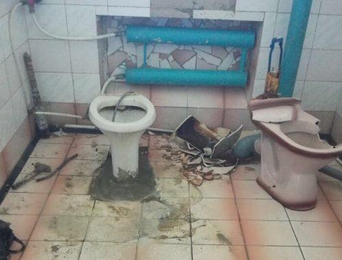 «Отбывают наказание» на рабочем месте сотрудники МСЧ-27 в посёлке Бира