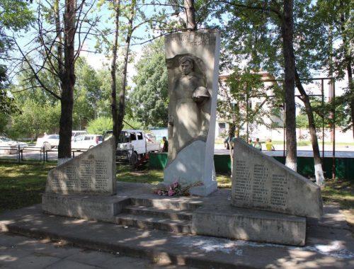 Администрация Николаевки отдала часть сквера Победы под строительство магазина