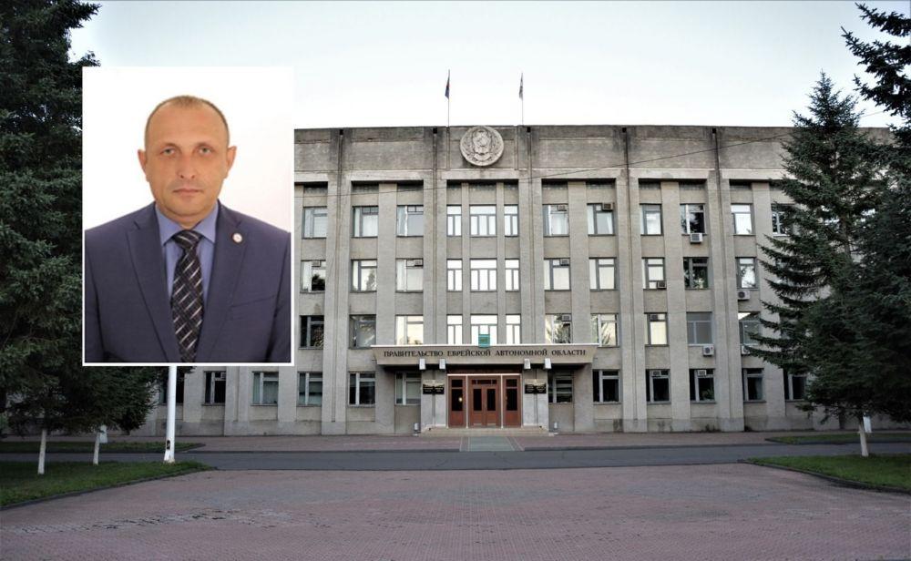 Сергей Овчинников представил пакет документов на должность начальника управления по внутренней политике правительства ЕАО
