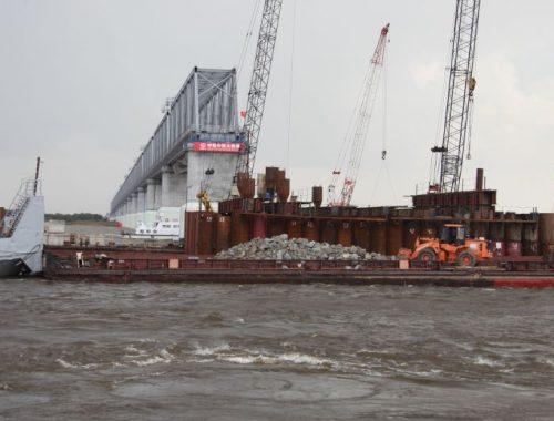 Вопреки заверениям правительства ЕАО Трутнев заявил о переносе срока сдачи Нижнеленинского моста