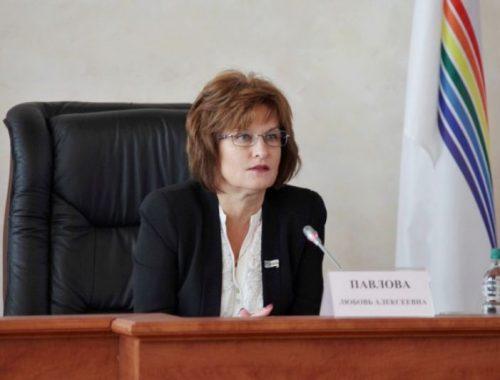 Председатель Заксобрания ЕАО Любовь Павлова поднялась на 12 позиций в медиарейтинге