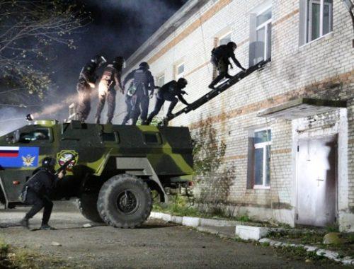 Антитеррористические учения проходят сегодня в ЕАО — правоохранители призывают сохранять спокойствие