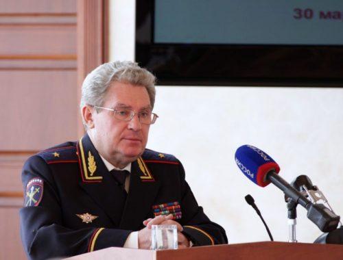 Генерал-майор полиции Александр Чаплыгин выведен за штат УМВД ЕАО, но не отправлен в отставку