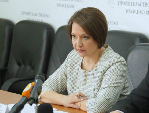 Александра Филиппова официально сменила Елену Лагошину на посту вице-премьера правительства ЕАО