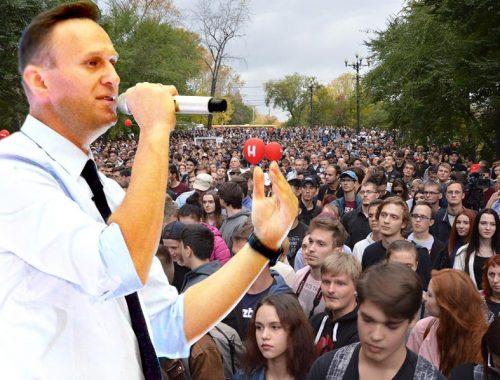 Навальный на митинге в Хабаровске: наш главный враг – неверие
