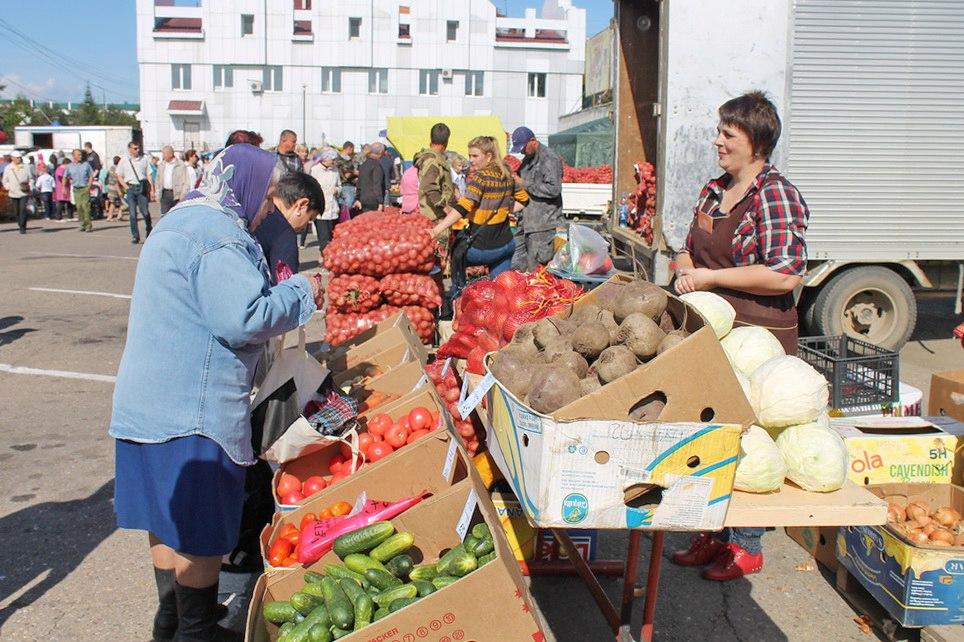 С 15 сентября в Биробиджане заработает сельскохозяйственная ярмарка