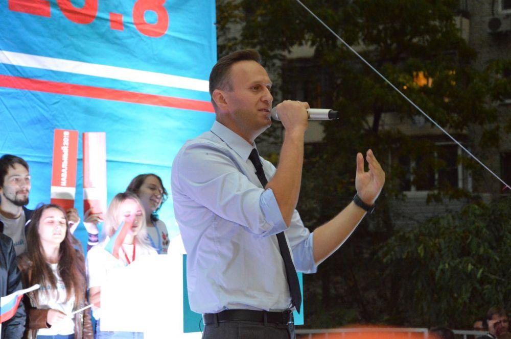 МВД пока не рассматривает версию намеренного отравления Навального