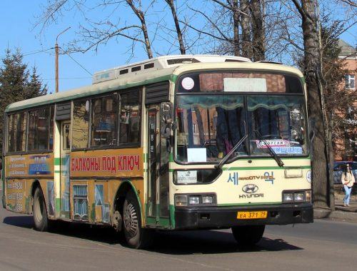 С 27 апреля в Биробиджане начнутся дачные перевозки