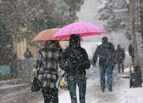 Мокрый снег и похолодание принесёт циклон в Биробиджан