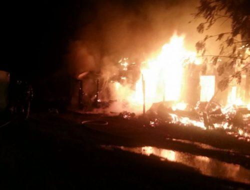 Одна женщина погибла и шесть человек госпитализированы из-за пожара в Облучье