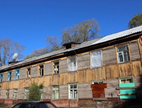 Дом под снос подключили к отоплению в Биробиджане