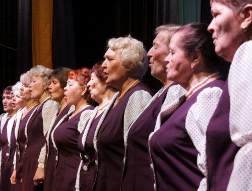 «С песней по жизни»: народный хор ветеранов Биробиджана отметил тридцатилетие