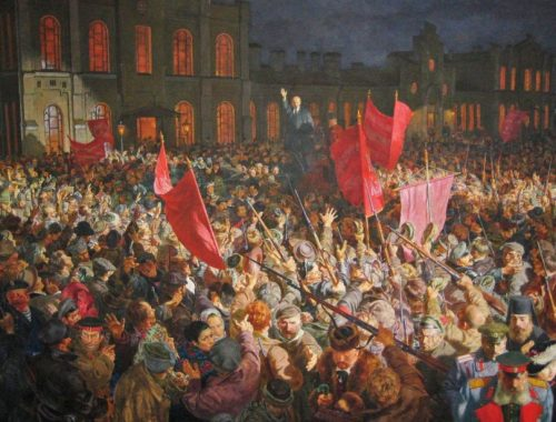 Первые ответы на вопросы дали участники научного диспута, посвященного 100-летию Октябрьской революции