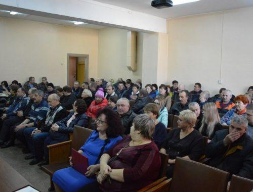 Мэр и депутаты поздравили коллектив ПАТП с профессиональным праздником