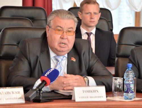 Сергей Тонких: правящее большинство Заксобрания не считается с интересами своих избирателей