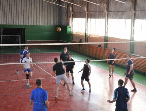 В ЕАО прошли соревнования по волейболу среди полицейских