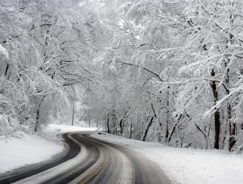 Из-за снегопада в ЕАО прекращено междугороднее автобусное сообщение