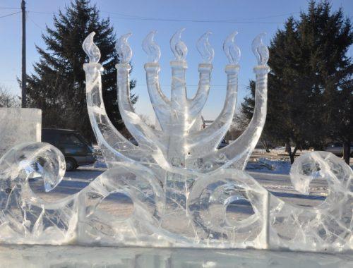 В Биробиджане пройдет Международный конкурс ледовых скульптур «Хрустальная менора»