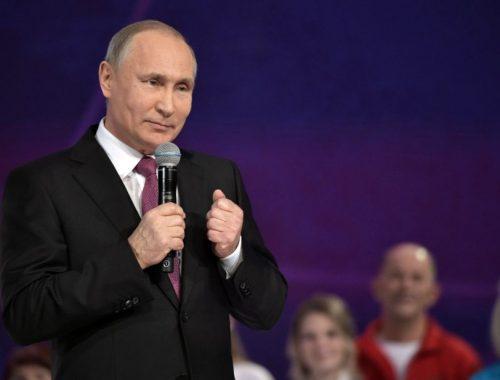 Путин объявил о намерении участвовать в выборах президента России в 2018 году