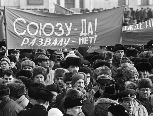 О распаде Советского Союза сожалеет более половины россиян