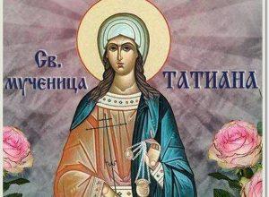 Поздравление Архиепископа Биробиджанского и Кульдурского Ефрема с днем памяти святой мученицы Татианы и Днем студента