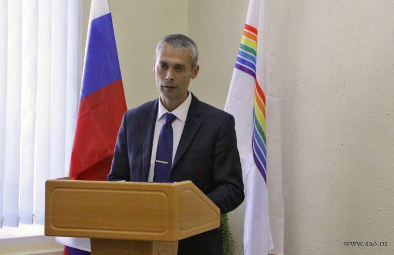 С очередной громкой статьёй выступил глава Октябрьского района ЕАО Алексей Егоров