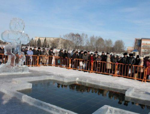 Крещенский городок в столице ЕАО традиционно возведут на льду Биры