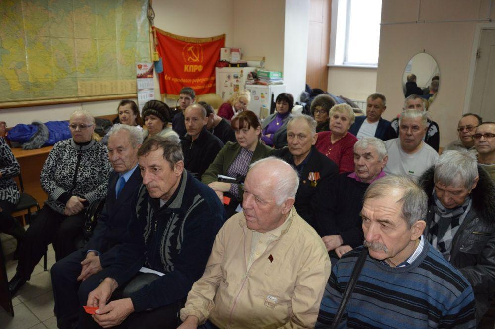 Пленум обкома КПРФ утвердил состав областного штаба Павла Грудинина