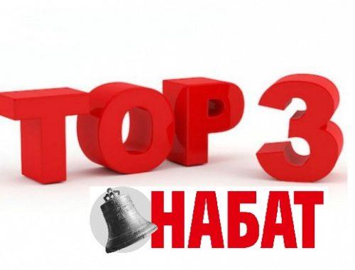 ТОП-3: Самые резонансные публикации «Набата» в 2017 году