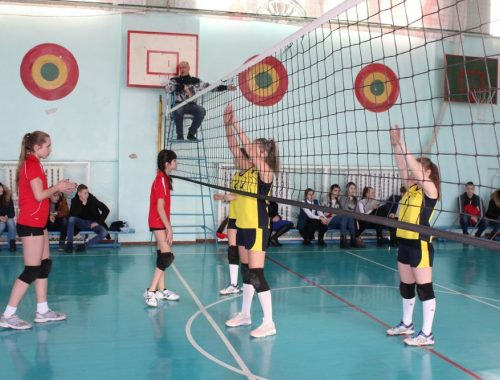 В Биробиджане завершились соревнования по волейболу среди девушек
