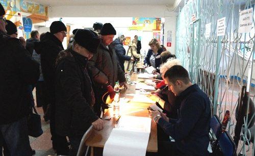 На нынешних президентских выборах жители ЕАО голосуют активнее, чем в 2012 году