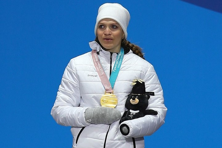 Третье золото принесла России Екатерина Румянцева на Паралимпиаде в Пхенчхане