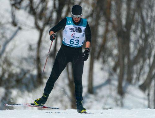 Биатлонистка Екатерина Румянцева родом из Валдгейма первой из российских атлетов завоевала золото на Паралимпиаде в Пхенчхане