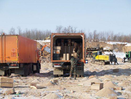 31 тонну взрывчатки изъяли сотрудники УФСБ на каменном карьере «Лумку-Корань»