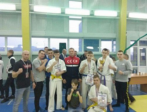 Кудоисты ЕАО привезли три медали из Приморья