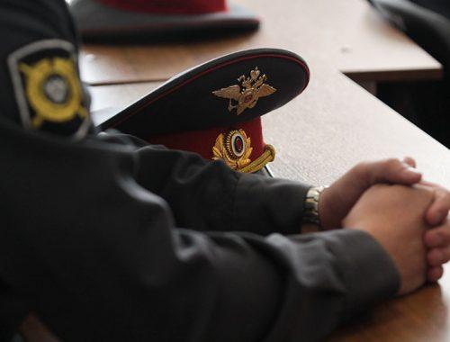 Уголовное дело полицейского, подделавшего протокол, направлено в суд
