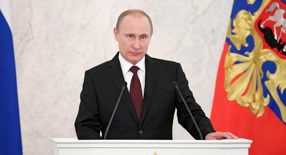 Пентагон увидел в послании Путина гонку вооружений России с самой собой