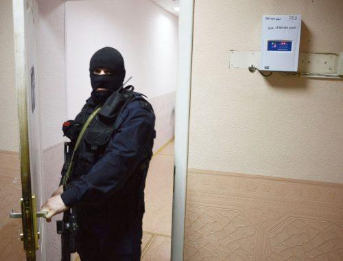 «Маски-шоу в управлении ЖКХ»: в мэрии Биробиджана с утра проходят следственные действия