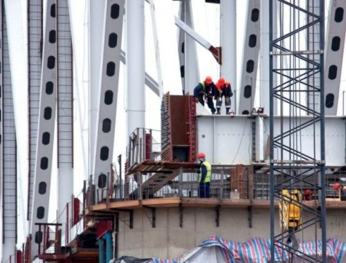 Левинталь в Петербурге: Стыковка российской и китайской частей Нижнеленинского моста начнется осенью 2018 года