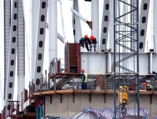 Одновременно с мостом в Нижнеленинском обещают ввести транспортно-логистический центр