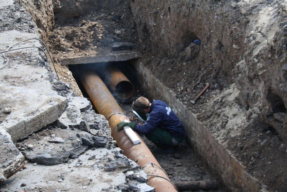 На улице Горького в Биробиджане с 11 мая начнётся ремонт теплотрассы