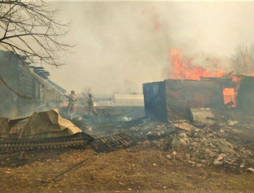 Пожар на Кирпичиках стал возможен из-за халатности чиновников мэрии Биробиджана