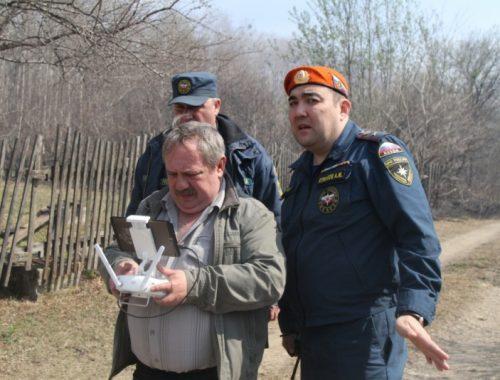 Квадрокоптеры помогают сотрудникам МЧС выявлять нарушителей противопожарного режима в ЕАО