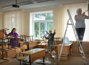 Чуть меньше 5 млн рублей выделено на подготовку школ и детсадов Биробиджана к новому учебному году