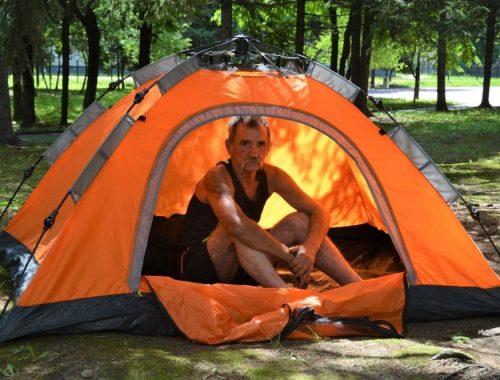 Голодовку у мэрии Биробиджана объявил бездомный инвалид