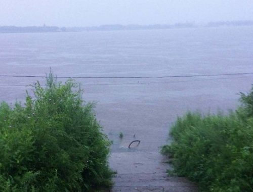 Амур может подняться до 680 см после тайфунов