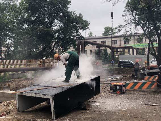Около 1 километра магистральных теплосетей заменят специалисты Биробиджанской ТЭЦ